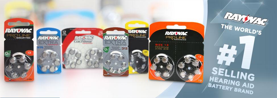 RAYOVAC baterije