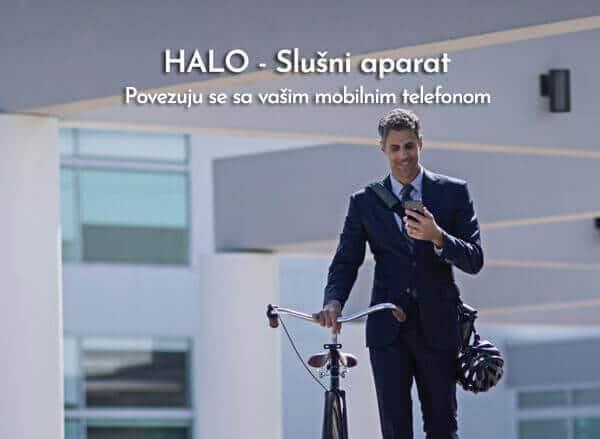 Halo - slušni aparat